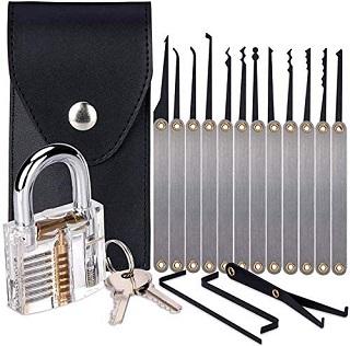 Stainless Steel Multitool Lock Set
