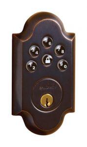 Baldwin Boulder 8252 AC1 Keyless Entry Single Cylinder Deadbolt